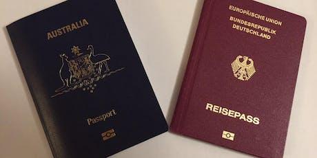 Seminar on Dual (Australian/German) Citizenship - Brisbane tickets