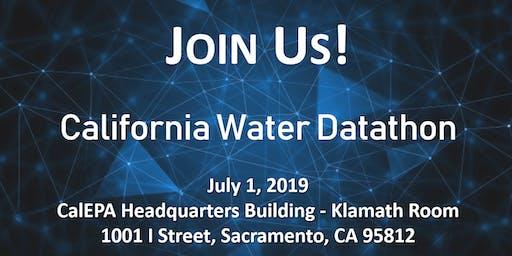 2019 California Water Data Science Symposium: Datathon