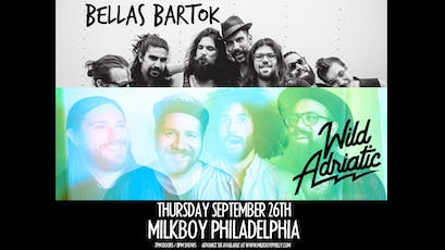 Bella's Bartok + Wild Adriatic tickets