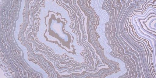 Suminagashi (Japanese paper marbling)