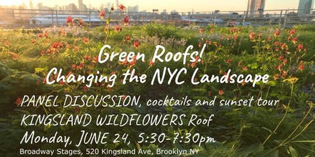 Green Roofs, Changing the Landscape of NYC tickets