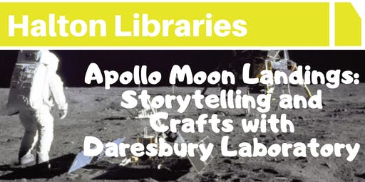 Apollo Moon Landings: stories and crafts with Daresbury Labs