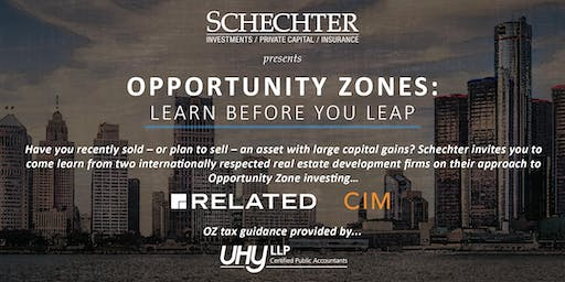Opportunity Zones | Related Companies, CIM Group, UHY LLP
