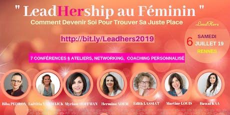 "Séminaire "" LeadHership au Féminin "" billets"