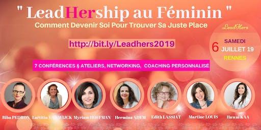 """Séminaire """" LeadHership au Féminin """""""