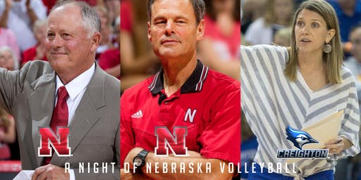 A Night of Nebraska Volleyball