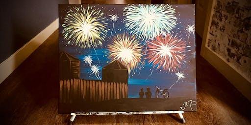Fort Vancouver Fireworks - Paint Workshop