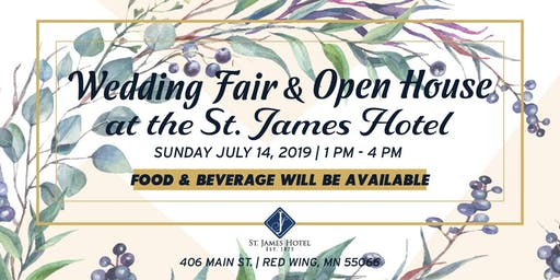 Wedding Fair & Open House at the St. James Hotel