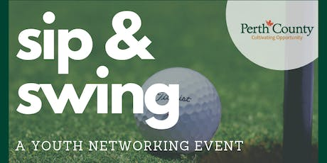 Sip & Swing: Youth Networking tickets