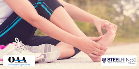 Foot Pain Info Session with Dr. Cook of OAA Orthopaedic Specialists tickets