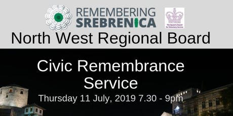 Remembering Srebrenica Civic Memorial Service tickets