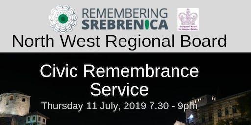 Remembering Srebrenica Civic Memorial Service
