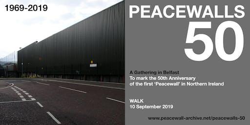 PEACEWALLS 50 - Walk