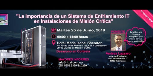 Conferencia: La Importancia de un Sistema de Enfriamiento IT