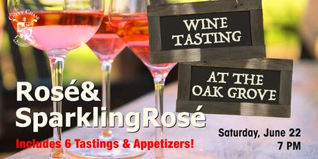 Summer Welcomes Rosé Tasting tickets