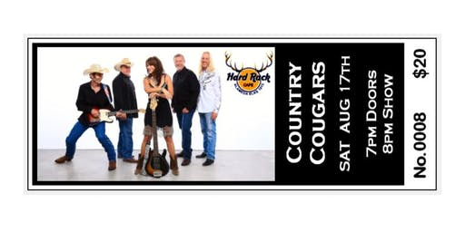 The Hard Rack Cafe presents .... the COUNTRY COUGARS