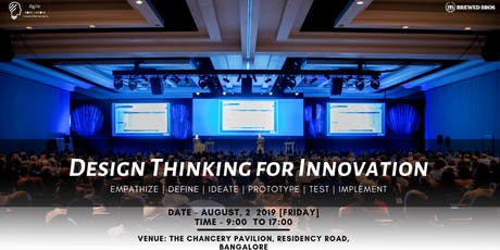 Design Thinking for Innovation 2019 tickets