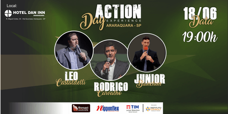 ACTION DAY EXPERIENCE - ARARAQUARA ingressos