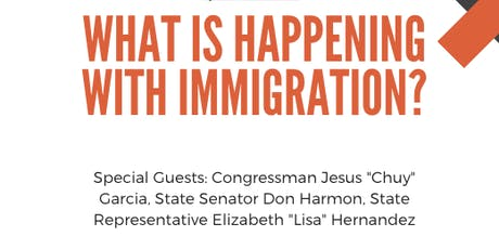 Join PASO ... What is Happening with Immigration? tickets