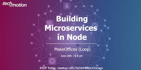 Panel: Building Microservices in Node tickets