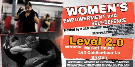 Women's Empowerment & Self-defence 2.0 tickets