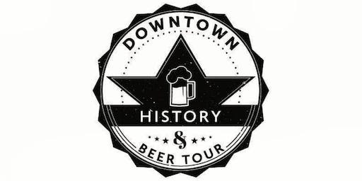 Downtown History & Beer Tour - July