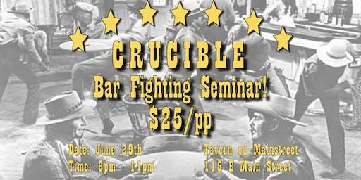 Bar Fighting Seminar