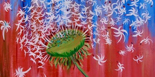 Dandelion - Paint & Sip Experience