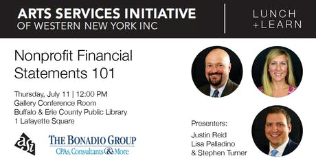 Nonprofit Financial Statements 101 tickets