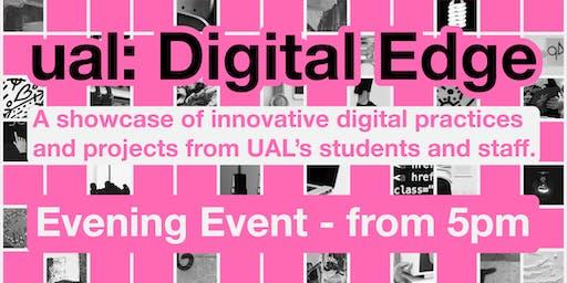 UAL: Digital Edge - EVENING RECEPTION