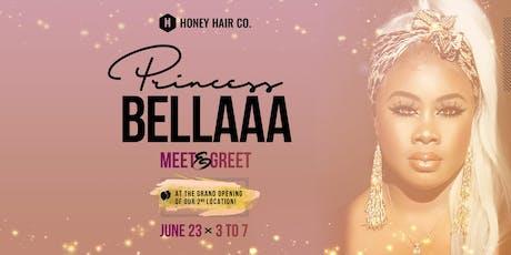 Karla Tobie (Princess Bellaaa) Meet & Greet @ Honey Hair Co. Grand Opening tickets
