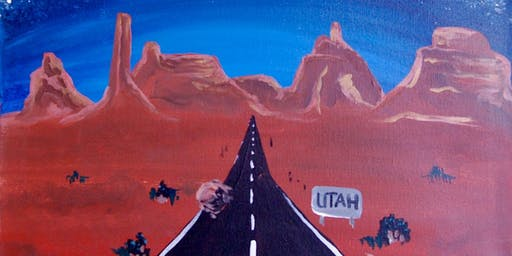Utah Highway - Paint & Sip Experience
