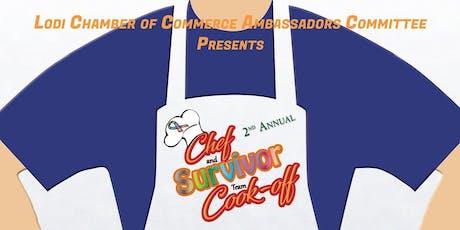 2nd Annual Chef & Survivor Cook-off tickets