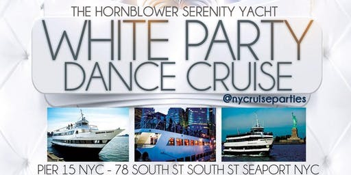 The All White Dance Party Cruise Aboard the Serenity Yacht