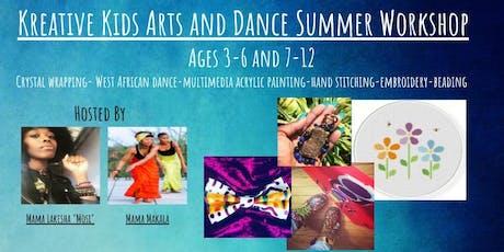 Kreative Kids Arts and Dance Summer Workshop tickets