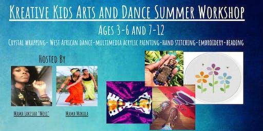 Kreative Kids Arts and Dance Summer Workshop