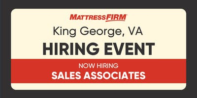 King George, VA - Live Hiring Event