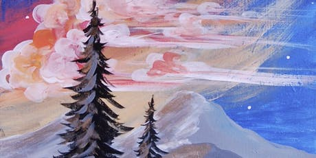 Mountain Sunrise - Paint & Sip Experience tickets