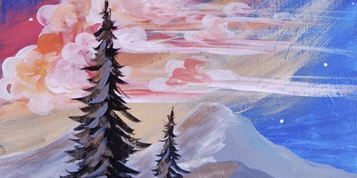 Mountain Sunrise - Paint & Sip Experience