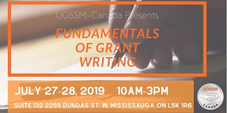 Fundamentals of Grant Writing tickets