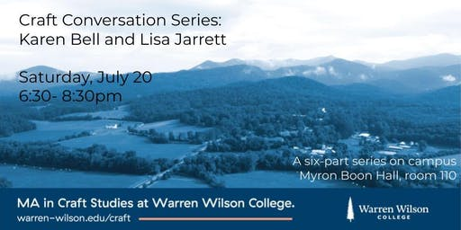 Craft Conversation Series: Karen Bell and Lisa Jarrett