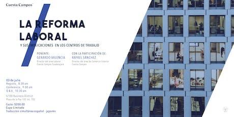 La Reforma Laboral y sus Implicaciones en los Centros de Trabajo entradas