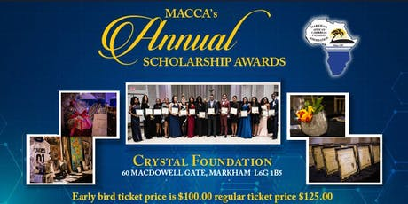 MACCA 32nd Annual Scholarship Awards tickets
