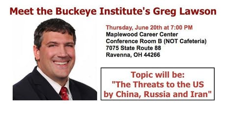 Meet Greg Lawson from the Buckeye Institute tickets