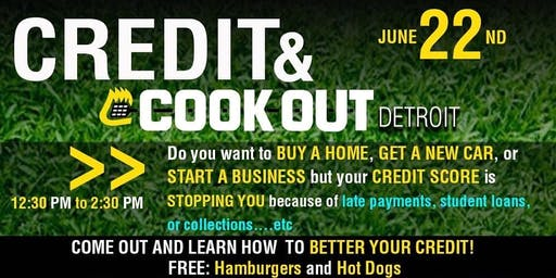 Credit Education and Cookout