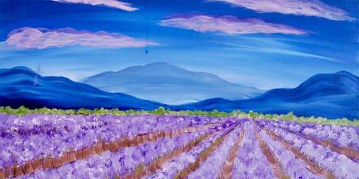 Lavender Fields - Paint & Sip Experience