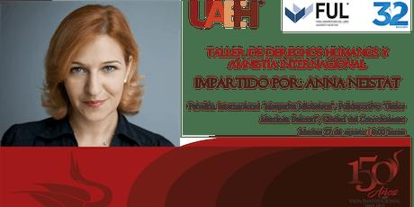 Taller Profesorado Honorario Visitante UAEH entradas