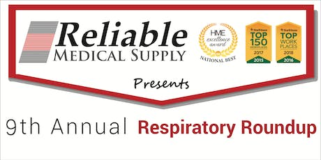 9th Annual Respiratory RoundUp: Registration tickets
