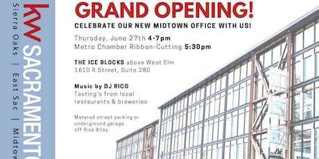KW Sacramento Ice Blocks Grand Opening!  tickets
