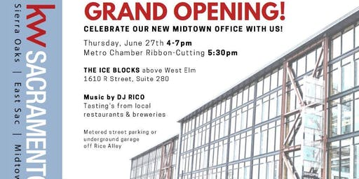 KW Sacramento Ice Blocks Grand Opening!